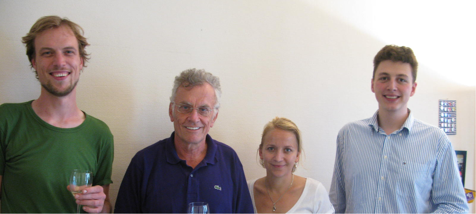 Steuergruppe Netzwerk 4057 (von links: Benjamin van Vulpen, Ueli Keller, Judith Hindermann, Marco Tomasetti)